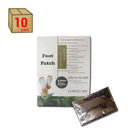 Free Shipping - Detox Foot Pad Patches (10 Pieces Pack!) by HealthyLife