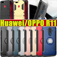 2018 Ring Holder case for Huawei P20 P20 Pro Mate 10  Mate 9 Nova 2i casing  OPPO R11S R9S R9S Plus