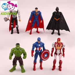 anime action figure The Avengers figures super hero toy doll baby hulk Captain America thor Iron man