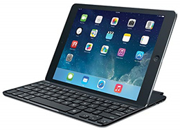Logitech Ultrathin Magnetic Clip-on Keyboard Cover for iPad Air (5th Generation) - Space Grey