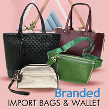 [PROMO NEW COLLECTION] Branded Import Bags Wallets Pouches - FREE ONGKIR JABODETABEK