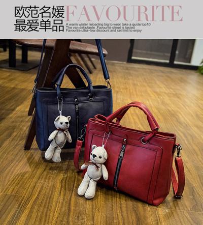 Dongkuan influx of new bag big bag handbag Ms. European and American  fashion womens singles 96d2a005691a4