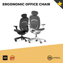 Xiaomi Yuemi Ergonomic Office Chair [Adjustable Lumbar Support/ Linkage Armrest/ Breathable Fabric]