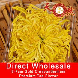 【TEA FLOWER】 20x Premium Golden Chrysanthemum Flower Tea SALE * 6cm - 7cm Best Grade ♨