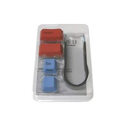 PFU 해피해킹 컬러 키 톱 세트 PD-KB400KT01