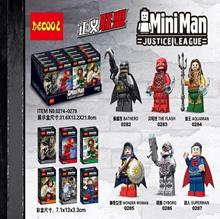 Deco decool Justice League Mini Figure 6-piece set 0282_0287