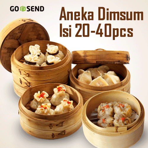 DIM SUM ANEKA TOPPING | ISI 20/40 PCS | FREE DELIVERY | HOME MADE | MADE BY ORDER Deals for only Rp52.000 instead of Rp126.829