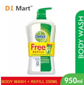 low priced f7253 be7f2 Dettol Shower Gel (Lasting Fresh  Original  Skin Care Fresh  Cool)