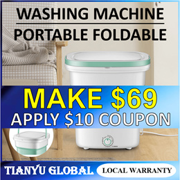 TikTok Famous Folding Washing Machine Portable Electronic For Baby Clothes and Delicates