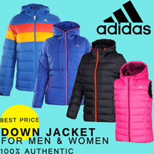 ADIDAS QUALITY DOWN JACKETS-FOR MEN AND WOMEN.100% AUTHENTIC