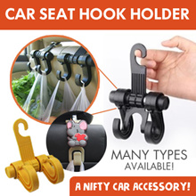 Car Hanger* Colorful Car bags organizer coat hook* Car seat hook holder * Car Seat Accessories