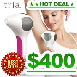 ★+FREE GIFT!★TRIA BEAUTY TRIA Plus 4X Laser Hair Removal Remover Grainer Epilator - BEST SELLER