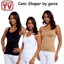 [Buy 2 Free Shipping] Cami Shaper/Cami Body Shaper Genie Bra ShapeWear Tank Top Slimming Camisole