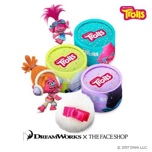 [The Face Shop] Pastel Cushion Blusher Trolls Edition Deals for only Rp90.000 instead of Rp90.000