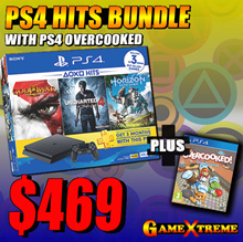 [GameXtreme] SONY PS4 Slim 500GB HITS bundle with PS4 Overcooked! Local Warranty!