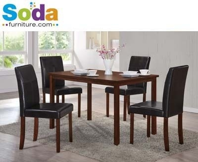 Modern 5pc Dining Set By Soda Furniture (Local Seller) / Fast Delivery