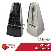 Metronome (AP-200) -  Tempo: 40 to 208 bpm - Beats: 02346 - Piano I Drum I Guitar I Keyboard