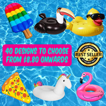 ★ 2018 Hottest Floats ★ Giant Inflatable Pool Beach Floats - Group B (Swan/flamingo/unicorn/dragon)
