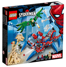 LEGO 76114 Spiderman: Spiderman s Spider Crawler