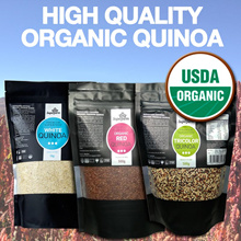 [Organic White Quinoa 2KG] USDA Organic Certified Red/Tricolour Quinoa Available!