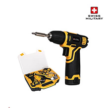 Swiss Military 7.2V Lithium ion Cordless Driver Hand Tools Set SML-HT720