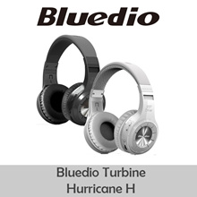 Bluedio Headphone Bluetooth 4.1 H+ TURBINE Dengan (SDcard SOLT+FM radio scan) - 6 Month Warranty