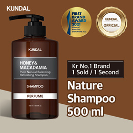 [KUNDAL] Nature Shampoo 500ml ✨Kr No.1 Brand✨⭐1 sold in EVERY 1 Second⭐