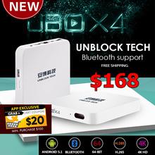 ★FREE I8 AIRMOUSE+FREE SHIPPING★ Unblock Tech TV Box UBOX UBOX4 S900 Pro Bluetooth 4K 16G Smart TV R