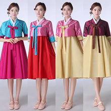 North Korea Kim traditional Korean dance TV drama dress set 006