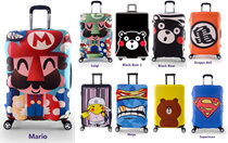 【Ready Stock + Fast Shipping】Luggage Protector Cover Travel Suitcase Standard Handle