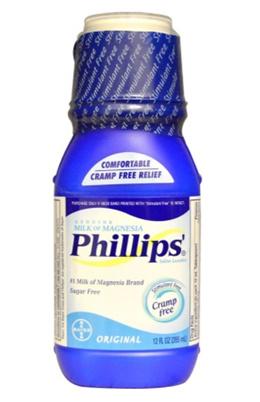 Phillips Genuine Milk of Magnesia Saline Laxative Original 12 fl oz (355 ml)