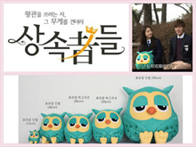 Heirs Roumang Owl Korean Drama Hand Warmer Cushion