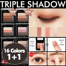 ★Today Limited 200P Crazy Sale!★1+1 [Missha] Triple Shadow★Missha Bestselling Eyeshadows★