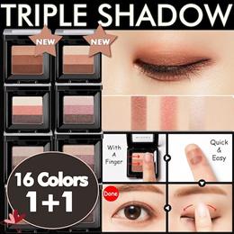 ★Today Limited 200P Crazy Sale!★1+1 [Missha] Triple Shadow★Missha Bestselling Eyeshadows★