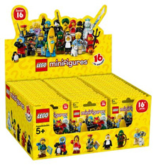LEGO 71013 Minifigures Series 16 Full Box