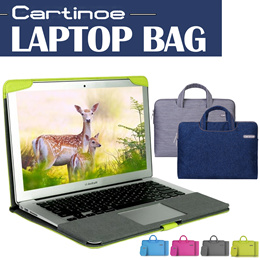 [JD Mall]🚚🚚Stock in Sinapore★Cartinoe laptop Bag★MacBook★ Cover PU Cover Protective for Laptop