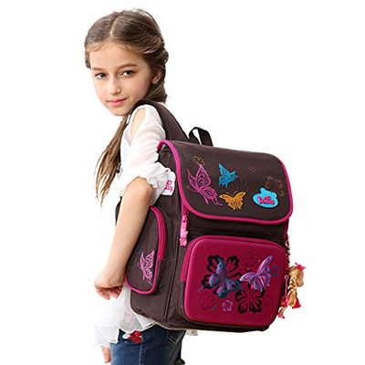 85e98cbc9b  DELUNE  School Backpack for Girls Kids School Bag with Lovely Doll - Cute