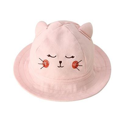 d803da418d4 Baby Sun Hat Animal Bucket Hat with Wide Brim for Boys   Girls Autumn Summer