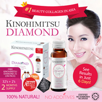 Kinohimitsu Collagen Diamond 32s + 2s  *2 MONTHS SUPPLY*