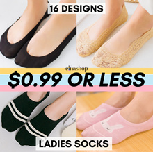 Women Socks❤️NO MORE PRICE ADD ON❤️Invisible/Ankle/Regular❤️Cotton/Ice Silk❤️SG immediate delivery❤️