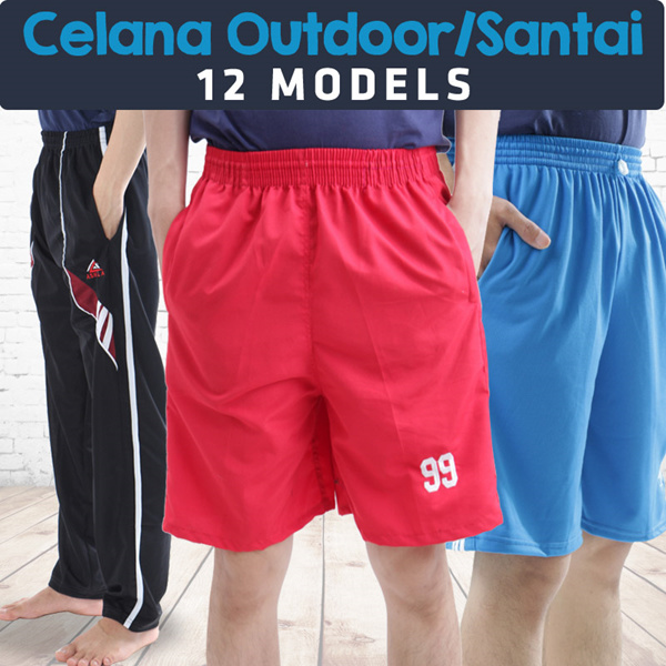 [Calista 1st Retail] Celana pendek rumahan / santai / outdoor / sport / Top 14 Models / 50+ colors Deals for only Rp13.500 instead of Rp13.500