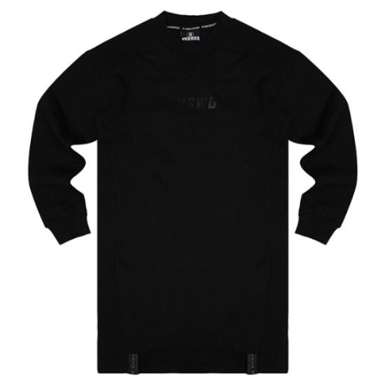 ヘッチュオンアーバンのスワッガーOVER FLOW起毛裏地スリットワンピースURBOPI5118 面ワンピース/ 韓国ファッション