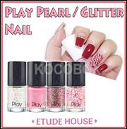 [Etude House] ★1+1★ NEW Play Nail 8ml Pearl&Glitter / K- Beauty