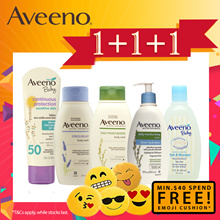 Buy 3 Deals!! [AVEENO] Daily/Dermexa/Skin Relief(BodyWash/Lotion/Cream/HandCream/Sunscreen/Stress R)