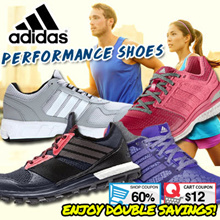 ADIDAS MEN AND WOMEN PERFORMANCE SHOES [100% AUTHENTIC]