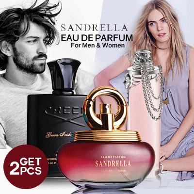 Get 2 EDP Sandrella Original Parfum for Women / Men 100mL | BPOM Deals for only Rp131.000 instead of Rp131.000