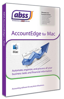 MYOB / ABSS AccountEdge Accounting Software (Single User) for Mac Singapore Version 13