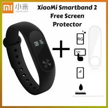 [CHEAPER AFTER APPLIED COUPON] - Xiaomi MiBand 2 OLED Display Mi2 Mi Band 2 Smartband Sports Bracelet // READY STOCKS