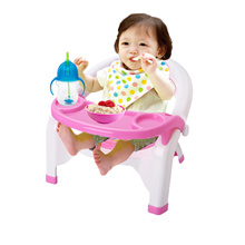 Detachable Tray Baby Toddler Dining Seat Sound Chair Table