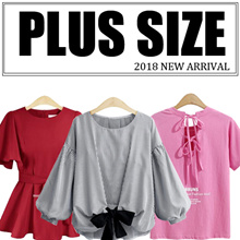 【Jan 19th】2018 NEW FASHION PLUS SIZE APPARELS DRESS/ BLOUSE/SKIRT/PANTS